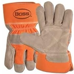 Orange Double Leather Palm