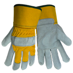 Yellow Canvas Leather Palm PE