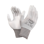 Ansell HyFlex Lite 11-600 White Polyurethane Coated Knit Gloves