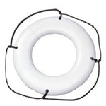 "White 30"" Ring Buoy"