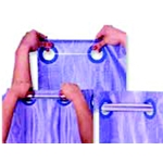 Shower Hooks Chrome 12/Pack