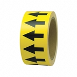 Yellow Directional Tape
