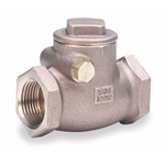 "3/4"" Swing Check Valve, Bronze, FNPT Connection Type"
