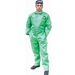 Green Welding Coverall 9oz 2X