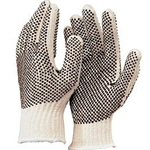 String Knit Dotted 2 Side Glove
