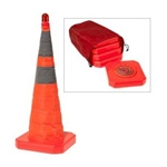 "28"" Lighted Collapsible Cone"