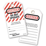 Lockout Tag Cardstock 25/pack